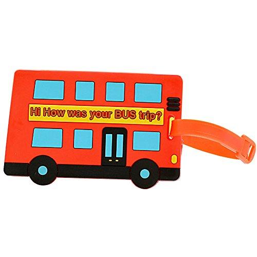 Distintivo equipaje autobus Londes etiqueta identificativa de maletas, bolsas playa, mochilas, maletines para viajes, campamentos, excursiones. novedad verano 2018 CHIPYHOME