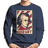 Photo de Cloud City 7 Wolfgang Amadeus Mozart Retro Propaganda Men's Sweatshirt par