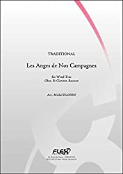 PARTITION CLASSIQUE - Les Anges de Nos Campagnes - TRADITIONNEL - Trio à Vent