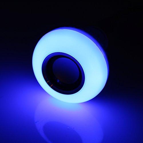 Aoutecen Bombilla LED RGB Bluetooth, lámpara de música LED Multifuncional, Bombilla de música LED, Armario para Dormitorio