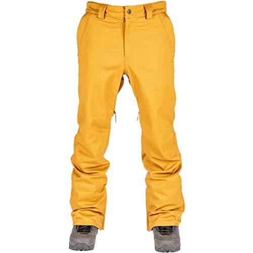 L1 Premium Goods Slim Chino Pantalon pour Homme M Tabac