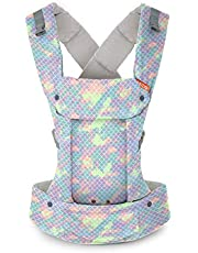 Beco Gemini bärsele – sjöjungfru sorbet, elegant och enkel 5-i-1 ryggsäck stil sele för att hålla bebisar, spädbarn och barn från 3,2-15,9 kg certifierad ergonomisk