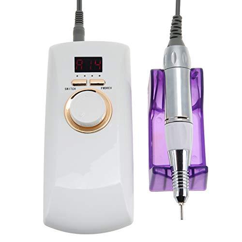 30000 RPM draagbare nagelboor manicure machine, oplaadbare elektrische nagelvijl boormachine, manicure pedicure machine voor thuis salon(EU)