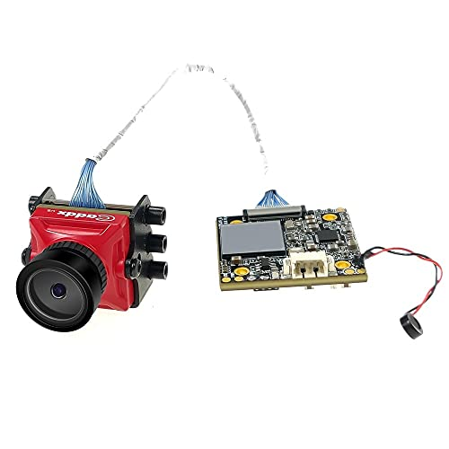 LMIAOM Caddx tortuga V2 1080P 1/2.7' CMOS de la cámara FOV155 1.8mm lente de ojo Turbo NTSC/PAL conmutable 4.5-20V FPV for FPV HD Racing Freestyle Piezas de montaje de accesorios de bricolaje