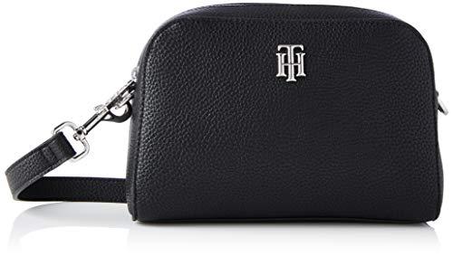 Tommy Hilfiger Damen TH Essence Crossover Taschen, Schwarz, One Size
