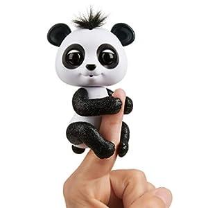 Wow Wee 3564Finger lings Baby Panda Drew, Nero