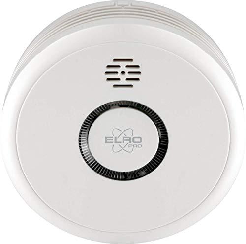ELRO PRO PS4910 Design-Rauchmelder mit automatischem Selbsttest und 10 Jahren Batterielebensdauer