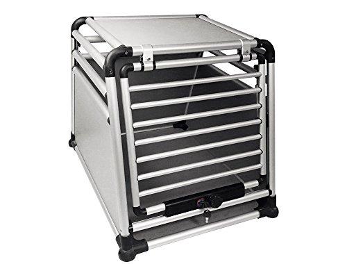 Nobby Boîte de Transport de Voiture Ronde en Aluminium
