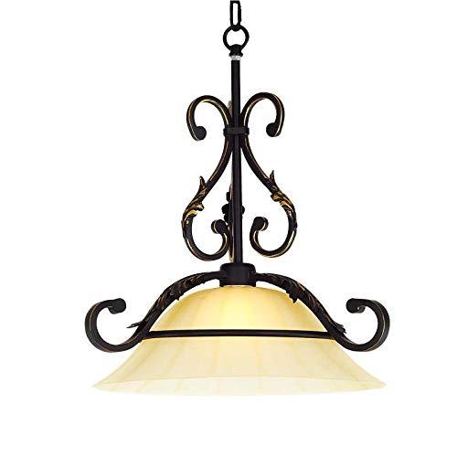 Hanglampen, hanglampen, plafondlamp, hanglamp, hanglamp, klassieke antieke ganglichtportal-nachtkastje van het oude Europese enkele kleine lampjes