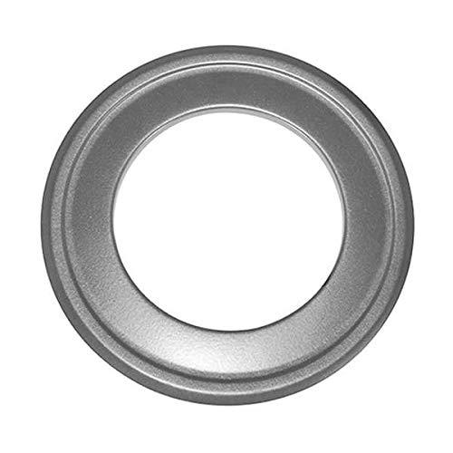 Ø 80 mm Rosette für isoliertes Alu-Flexrohr Grau