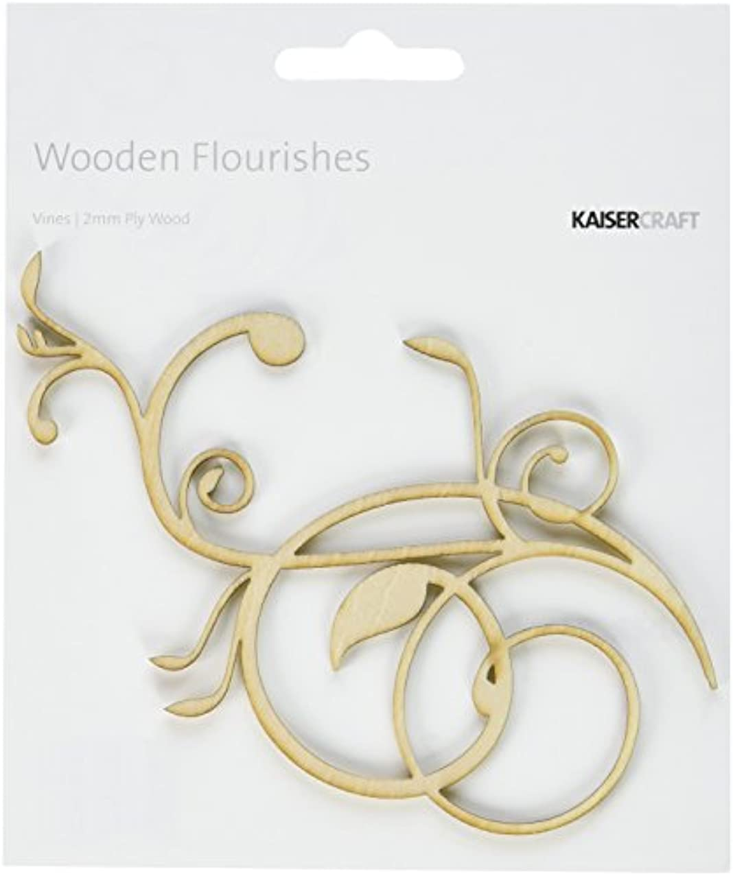 Kaisercraft Wood Flourishes, Vines