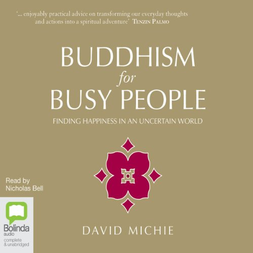 Buddhism for Busy People audiobook cover art