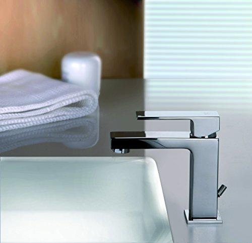 Miscelatore lavabo ELLE Paffoni EL075 con piletta 1'1/4 - cromato - con piletta