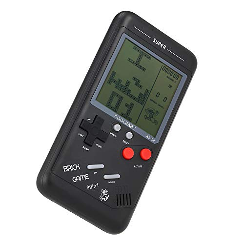 Goolsky RS-99 Consola de Juegos clásicos Juego de Bloques Tetris Juego de...