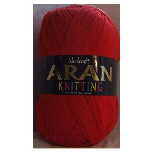 Woolcraft Aran Knitting Yarn 400g With Wool 807 Matador