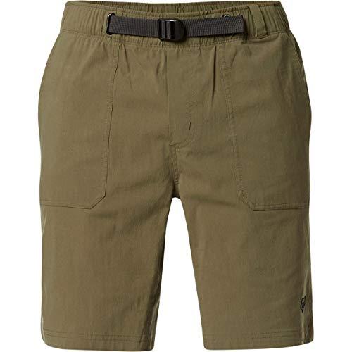 Fox Teton - Pantalón corto (talla S), color verde