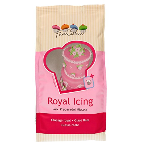 Funcakes Preparado Glasa Real (Royal Icing) 900g