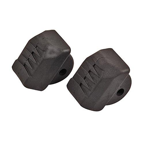 HUDORA 2 Stück Stopper - schwarz für Inlineskates s3SBEQ