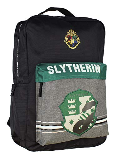 Harry Potter Slytherin Backpack School Book Bag With Laptop Sleeve