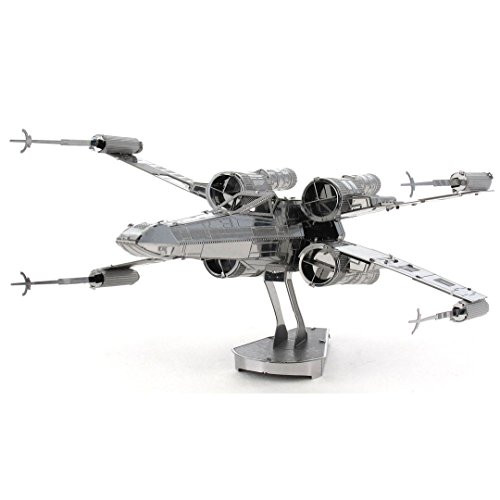 Fascinations Metal Earth MMS257 - 502656, Star Wars X-Wing, Konstruktionsspielzeug, 2 Metallplatinen, ab 14 Jahren