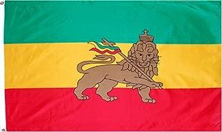 New Ethiopia 3x5 Flag With Lion 3 x 5 ETHIOPIAN Banner