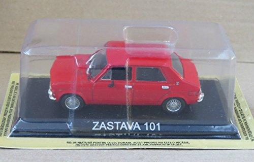 ZASTAVA 101 VOITURE MINIATURE COLLECTION 1/43 IXO IST - LEGENDARY CAR AUTO - B19