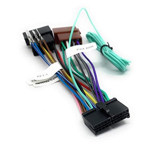 Sound-Way - Cable Adaptador de 20 Pines a ISO para Android Radio de Coche, Enchufe Estándar ISO - C-AND02