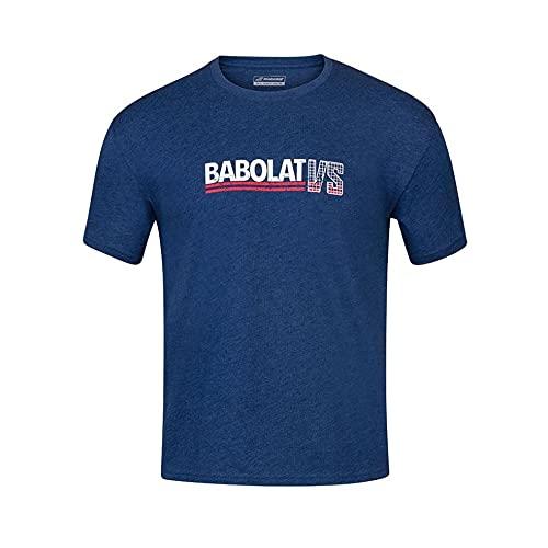 Babolat Exercise Vintage Tee Men Maglia Uomo, Uomo, 4MS20443, blu, X-Large