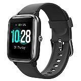 YAMAY Smartwatch,Fitness Armband mit Pulsuhren Fitness Tracker Wasserdicht IP68 Fitnessuhr Sportuhr Schrittzähler für Android iOS Handy Smart Watch mit Unterschiedliche Zifferblätter für Damen Herr