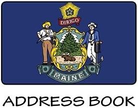 ADDRESSBOOK - USA Maine Flag
