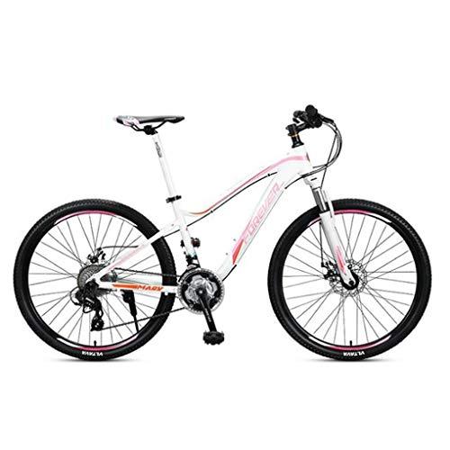 """Bicicleta Montaña MTB Bicicleta De Montaña, 26"""" Hombres / Mujeres Suspensión Delantera De La Bici, Marco De Aluminio Con Frenos De Disco Y Suspensión Delantera, 27 De Velocidad Bicicleta de Montaña"""