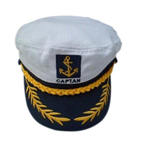 Pixnor Cappello da Capitano (Bianco)