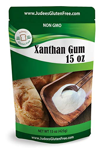 Judee's Xanthan Gum 15 oz - Non GMO, Keto Friendly, Gluten & Nut Free Dedicated Facility. Low Carb thickener for protein shakes, smoothies, gravies, salad dressings. Essential for gluten free baking.