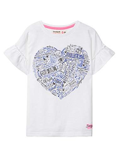 TS/_Oregon Bambina Desigual Girl Knit T-Shirt Short Sleeve