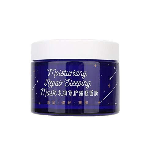crème de nuit anti-âge éclaircissante et rajeunissante pour peau terne, raffermit, réducteur de pores, réduit les rides et ridules, 110g de lotions de masque de sommeil hydratantes prétraitements