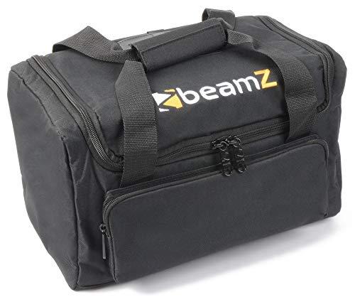 BeamZ AC-126, valigia morbida per proiettori BeamZ, colore nero, 355 x 205 x 200 mm, per il trasporto di apparecchiature per i l di giochi di luce, ideale per DJ set.