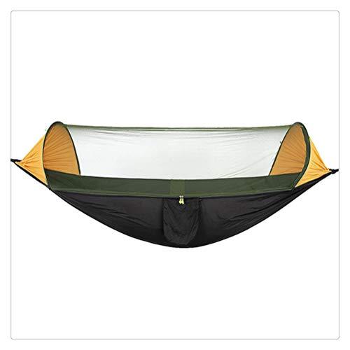 FTW Tienda Portátil Hamaca para Acampar con Mosquitera Hamaca Portátil De Uso Múltiple Tienda De Columpio para Senderismo Camping