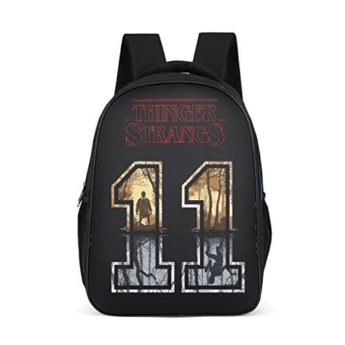 Eleven and Demogorgon Little Kid's Daypack Large Perfect Size for Gift Stranger grey onesize