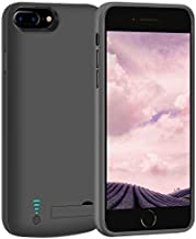 LOYTAL Battery Case for iPhone 8 Plus / 7 Plus / 6S Plus / 6 Plus, 8000mAh Rechargeable Extended Battery Charging/Charger Case, Adds 2X Extra Juice, Supports Wired Headphones