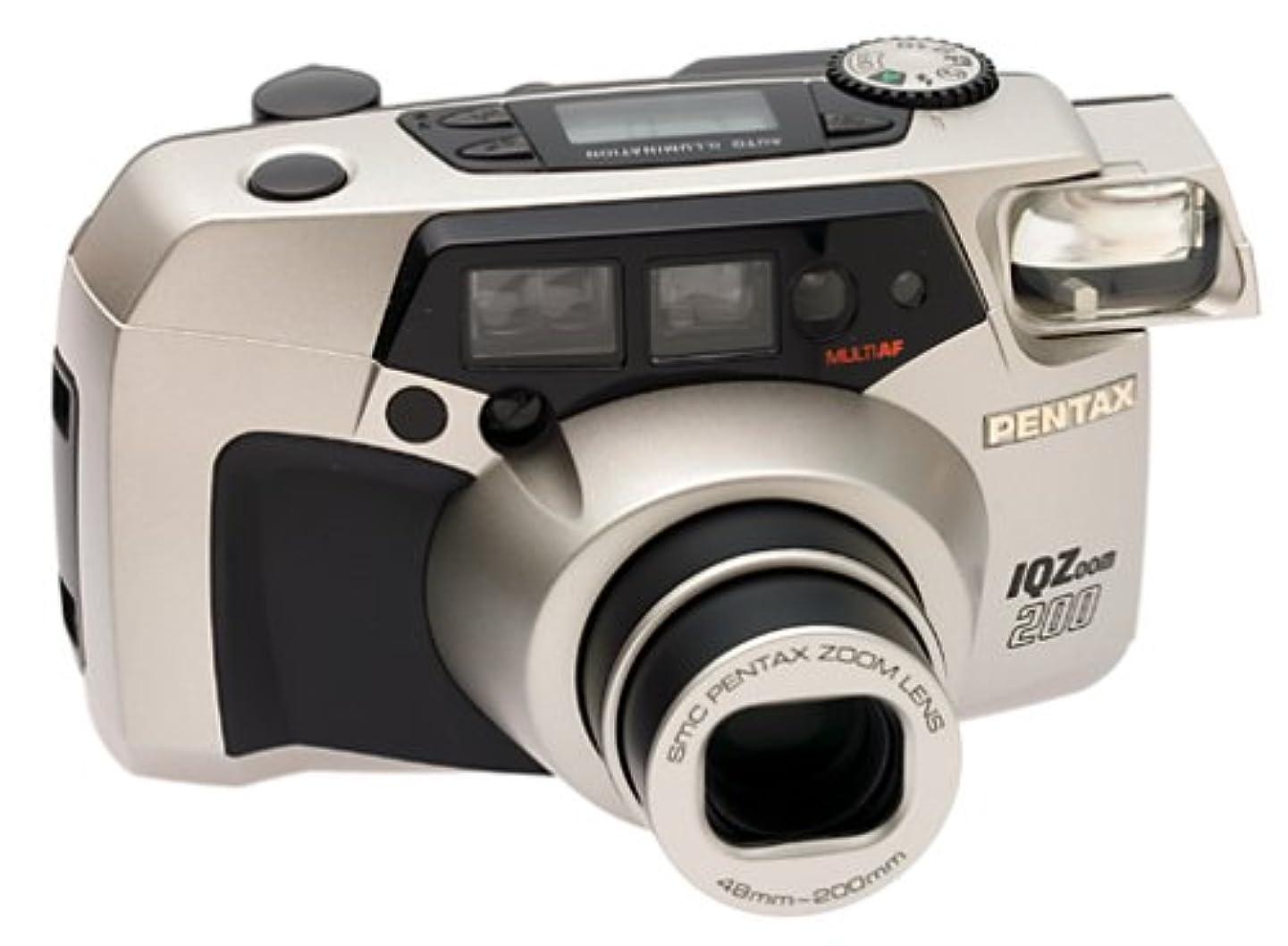 Pentax IQ Zoom 200 QD Date 35mm Camera