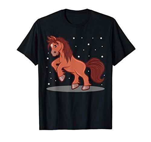 Pferde Reiten Reiterin Pony Pferdefreunde süßes Pferd Tshirt T-Shirt