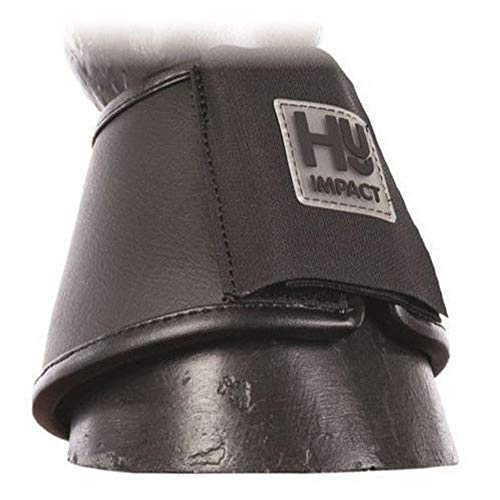 hyimpact Poney/cheval en cuir plus de Portée Bottes-Noir noir Noir grand