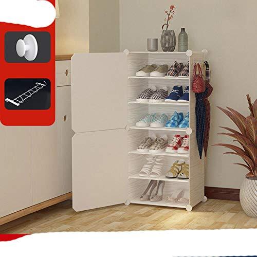 EUIWTUAJVN Shoe High Capacity Assembly Shoe Storage Combination Shoe Cabinet O Shoe Shelf-1-6,China