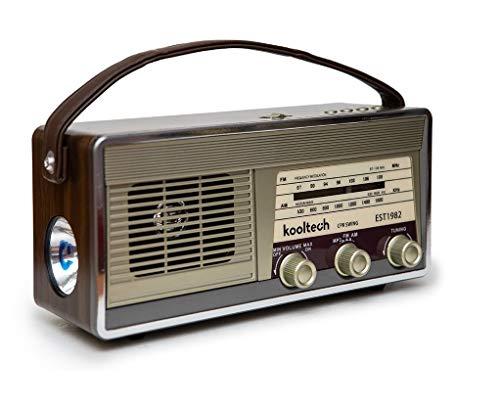 Kooltech 019496 Radio BT USB Vintage/Soul/30, Talla Única