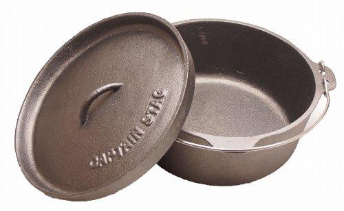 キャプテンスタッグ(CAPTAINSTAG)ダッチオーブンビギナーセットM-554125cm容量4L鋳鉄製6点セット