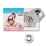A2D Things® Silver Cups Coppette in Argento per Capezzoli, Paracapezzoli per Prevenzione ...