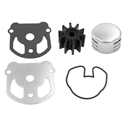UANOFCN OMC Cobra Water Pump Impeller Kit with Housing Replaces 984461 983895 984744