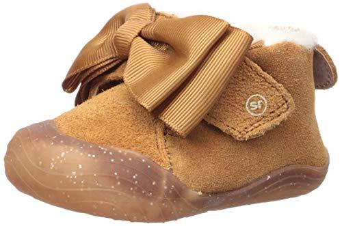 Stride Rite Girl s SR Campbell Ankle Boot, Chestnut, 1 Toddler