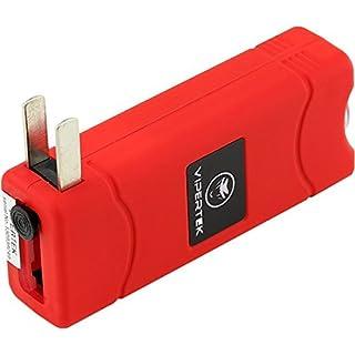 اسعار VIPERTEK VTS-881 - 35 Billion Micro Stun Gun - Rechargeable with LED Flashlight, Red
