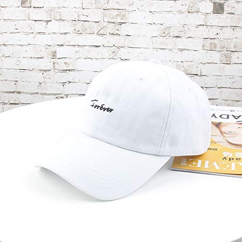 Sombrero Mujer Hipster Gorras Personalidad Coreana Soft Top Street Casual Salvaje Estudiante Moda Masculina Gorra de bisbol